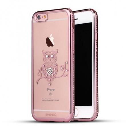 Apple iPhone 6 ruusukulta pöllö kuoret.