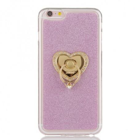 Apple iPhone 6 pinkit glitter kuoret.