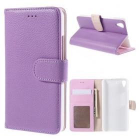 Huawei Y6 violetti puhelinlompakko