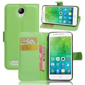Lenovo C2 Power vihreä puhelinlompakko