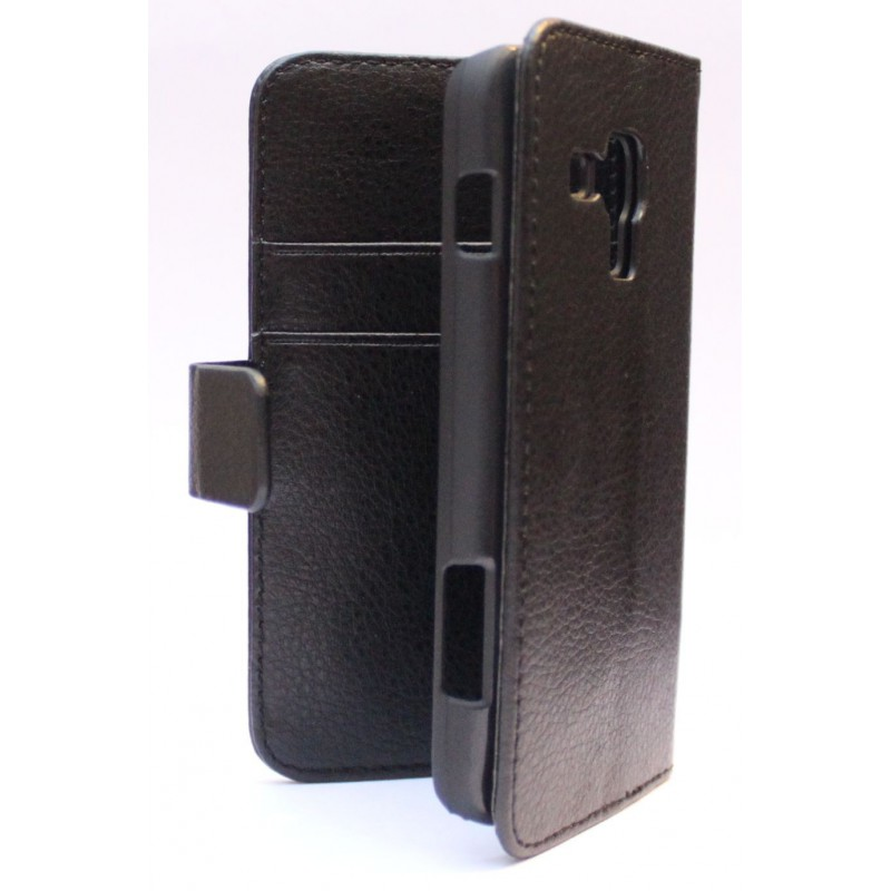Galaxy Ace 3 musta puhelinlompakko