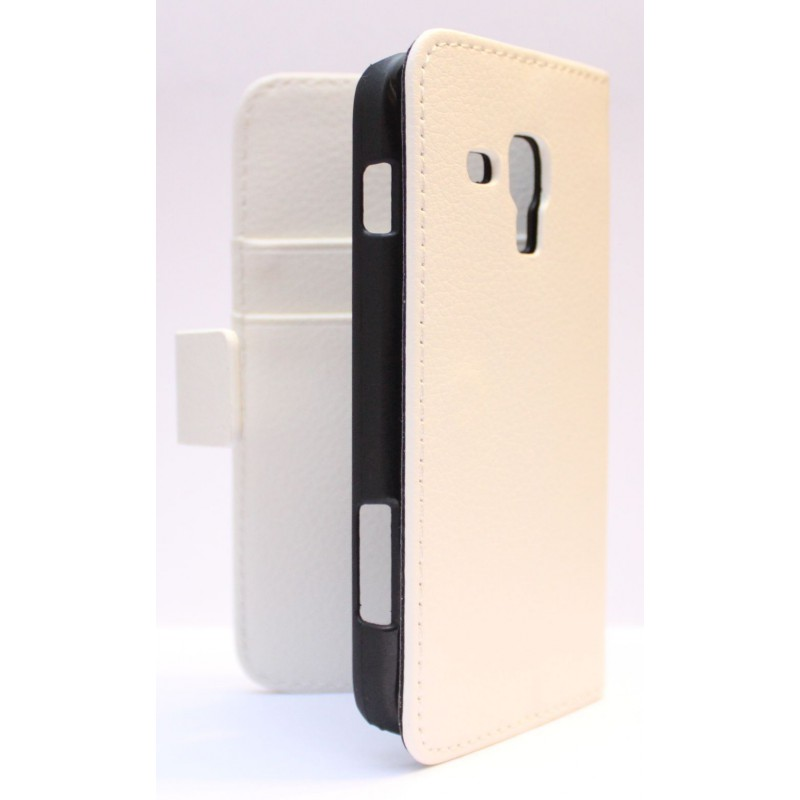 Galaxy Ace 3 valkoinen puhelinlompakko