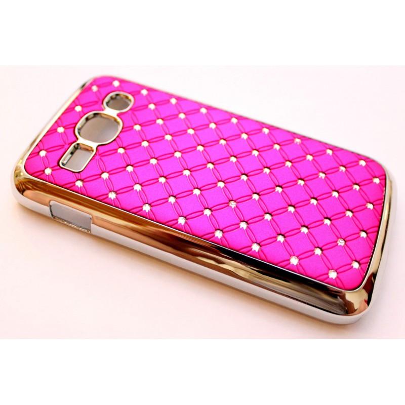 Galaxy Ace 3 hot pink luksus kuoret
