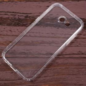 Samsung Galaxy A5 2017 läpinäkyvä silikonisuojus.