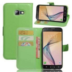 Samsung Galaxy A5 2017 vihreä puhelinlompakko