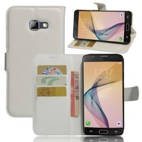Samsung Galaxy A5 2017 valkoinen puhelinlompakko