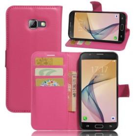 Samsung Galaxy A5 2017 pinkki puhelinlompakko