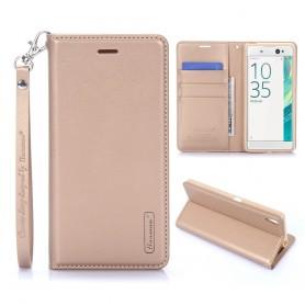 Sony Xperia XA kullan värinen puhelinlompakko