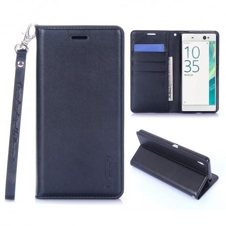 Sony Xperia XA musta puhelinlompakko