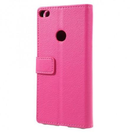 Huawei Honor 8 Lite hot pink puhelinlompakko