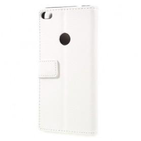Huawei Honor 8 Lite valkoinen puhelinlompakko
