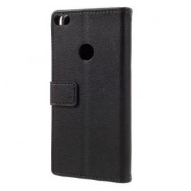Huawei Honor 8 Lite musta puhelinlompakko