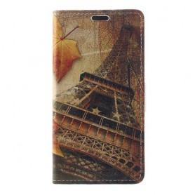Huawei Honor 8 Lite Eiffel-torni puhelinlompakko