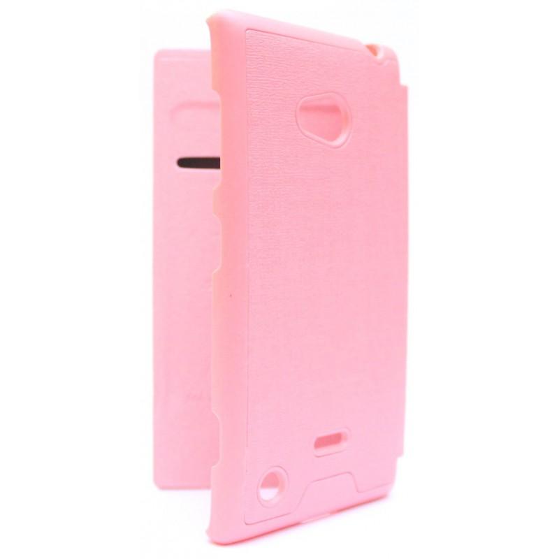 Lumia 720 vaaleanpunainen kansikotelo