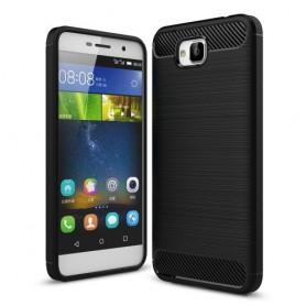 Huawei Y6 Pro musta suojakuori.