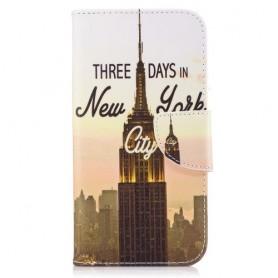 Samsung Galaxy A5 2017 New York puhelinlompakko