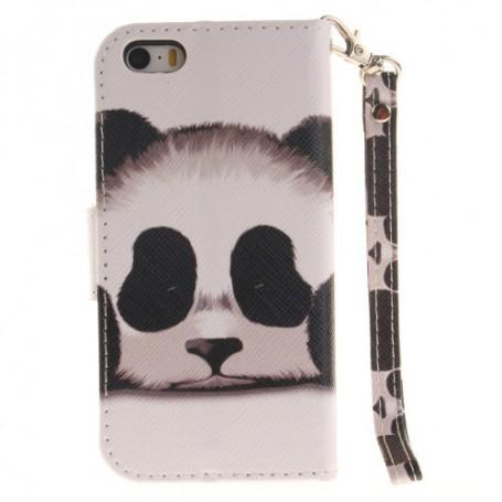 iPhone 5/5s/SE panda puhelinlompakko