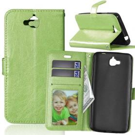 Huawei Y6 Pro vihreä puhelinlompakko