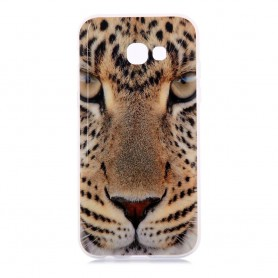 Samsung Galaxy A5 2017 leopardi suojakuori.