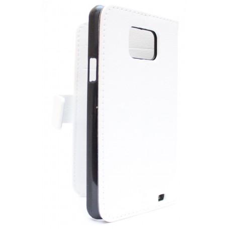 Samsung Galaxy S2 valkoinen puhelinlompakko