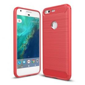 Google Pixel punainen suojakuori.