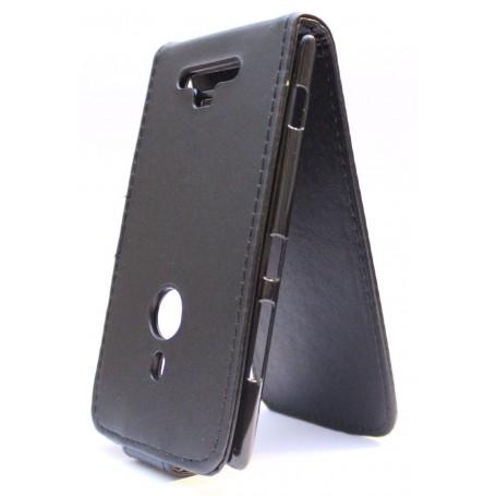 Lumia 925 musta läppäkotelo.