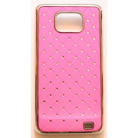 Galaxy S2 hot pink luksus kuoret
