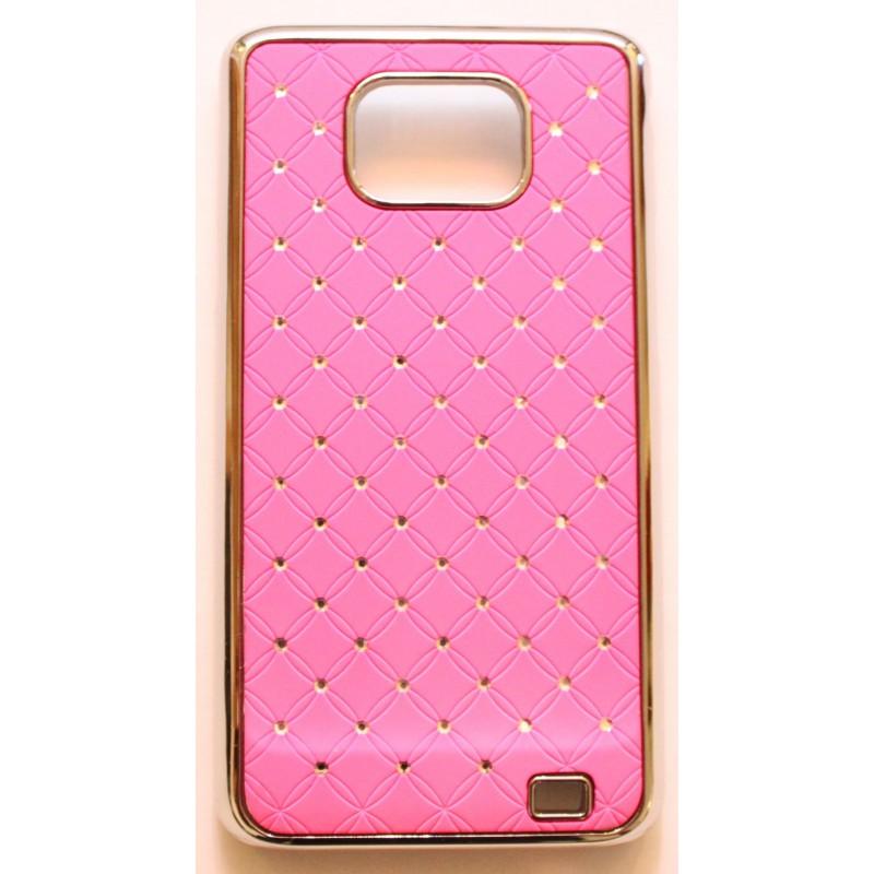 Galaxy S2 hot pink luksus kuoret
