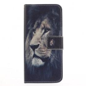 Samsung Galaxy S8 leijona puhelinlompakko