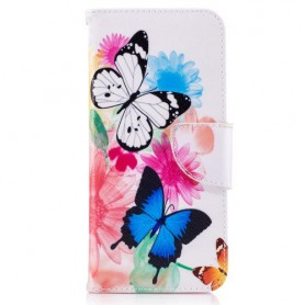 Samsung Galaxy S8 perhoset puhelinlompakko