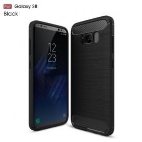 Samsung Galaxy S8 musta suojakuori.