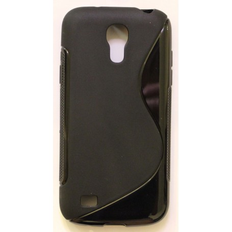 Galaxy S4 Mini musta silikonisuojus.