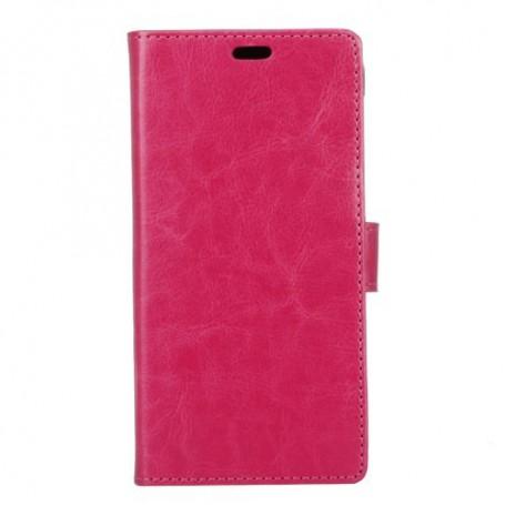 Samsung Xcover 4 pinkki puhelinlompakko