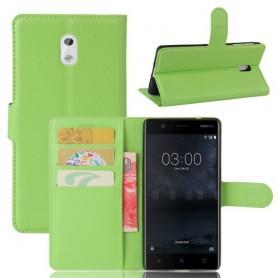 Nokia 3 vihreä puhelinlompakko