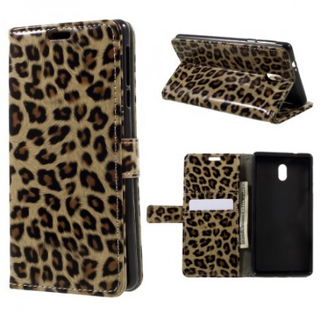 Nokia 3 leopardi puhelinlompakko