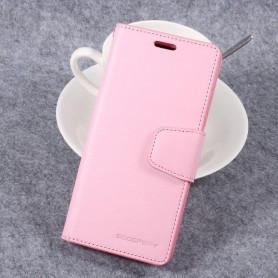 Samsung Galaxy S8 vaaleanpunainen puhelinlompakko