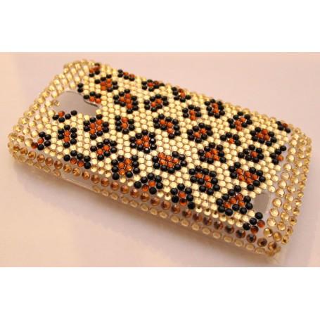Galaxy S4 Mini leopardi bling kuoret.
