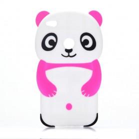 Huawei Honor 8 Lite pinkki panda silikonisuojus.