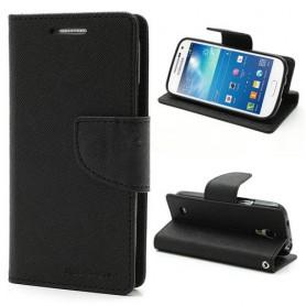 Samsung Galaxy S4 mini musta puhelinlompakko