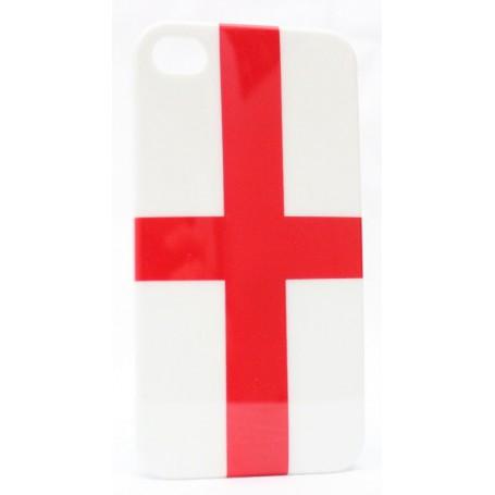 Apple iPhone 4 suojakuori Englannin lippu.