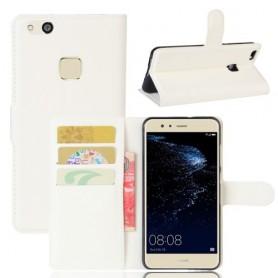 Huawei P10 Lite valkoinen puhelinlompakko