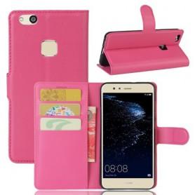 Huawei P10 Lite pinkki puhelinlompakko