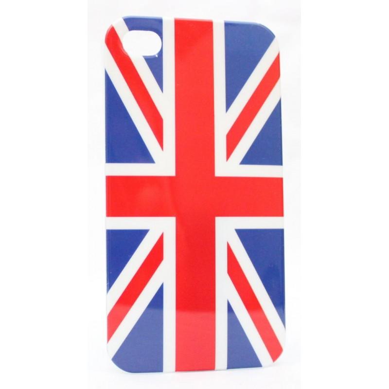 Apple iPhone 4 suojakuori Iso-Britannian lippu.