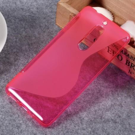 Nokia 5 roosan punainen suojakuori