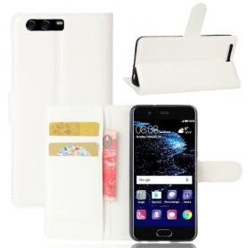 Huawei P10 valkoinen puhelinlompakko