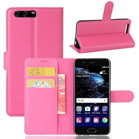 Huawei P10 pinkki puhelinlompakko