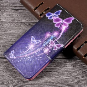 Huawei P10 perhoset puhelinlompakko