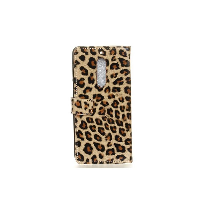 Nokia 5 leopardi puhelinlompakko