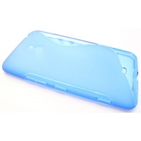 Lumia 1320 sininen silikonisuojus.