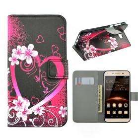 Huawei Y5 II sydän puhelinlompakko